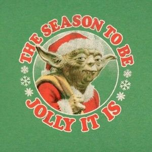 NWT: Star Wars Yoda Christmas Shirt